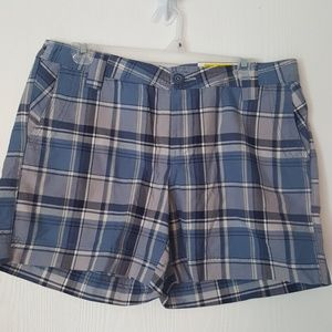 NEW NATURAL REFLECTIONS PLAID SHORTS